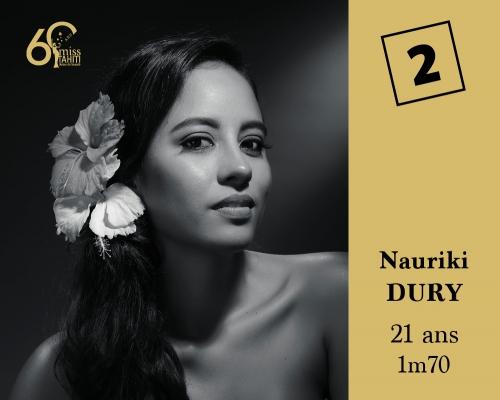 2 Nauriki DURY